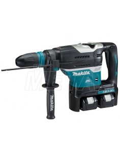 Makita Martello Rotativo-demolitore 40mm 18Vx2 BL Motor Bluetooth-SDS-Max Compatibile DHR400PT2U