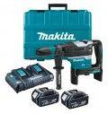Makita Martello Rotativo-demolitore 40mm 18Vx2 BL Motor Bluetooth-SDS-Max Compatibile DHR400PT2U