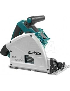 Makita Sega Circolare ad Immersione 18Vx2 165mm BL Motor Bluetooth DSP600ZJ