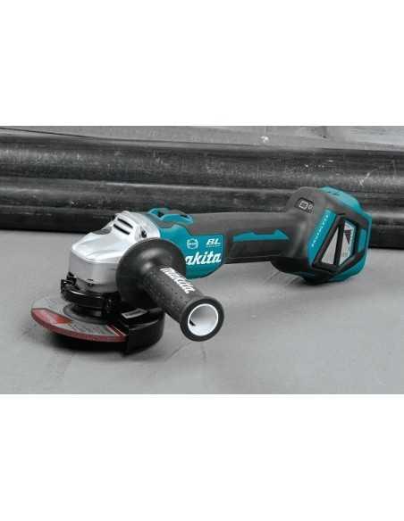 Makita Smerigliatrice Angolare 125/115mm 18V BL Motor Brake Velocità Variabile DGA514RTJU