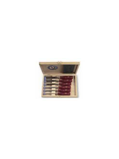 Valigetta 6 scalpelli per legno