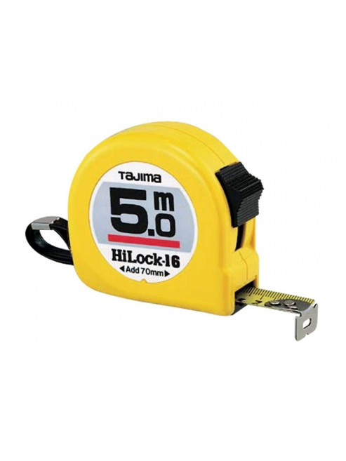 Tajima Flessometro Hi lock - Serie gialla 5 m