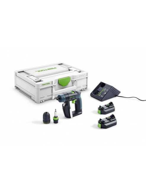 Festool Trapano avvitatore a batteria CXS 2,6-Plus